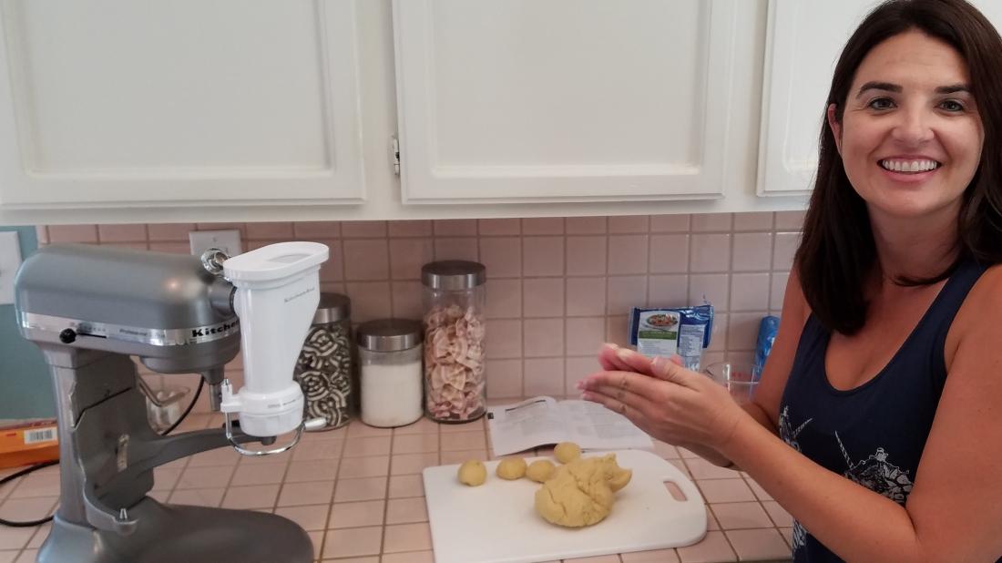 Dough Balls Pasta Making