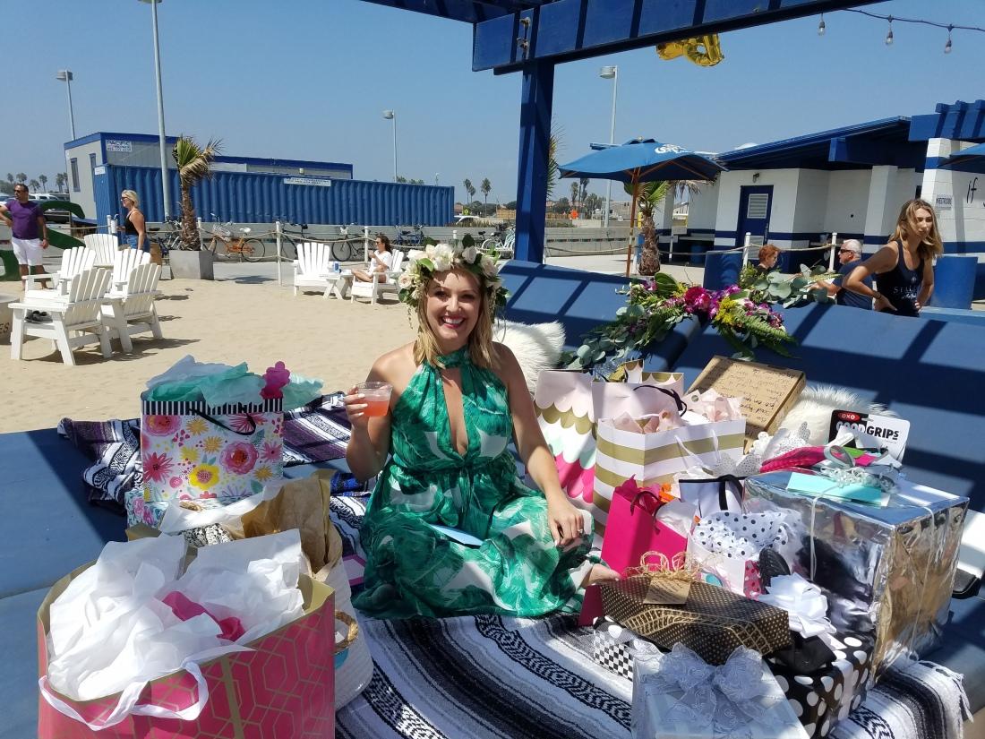 Cabana full of gifts