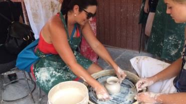 Molding Clay Vase