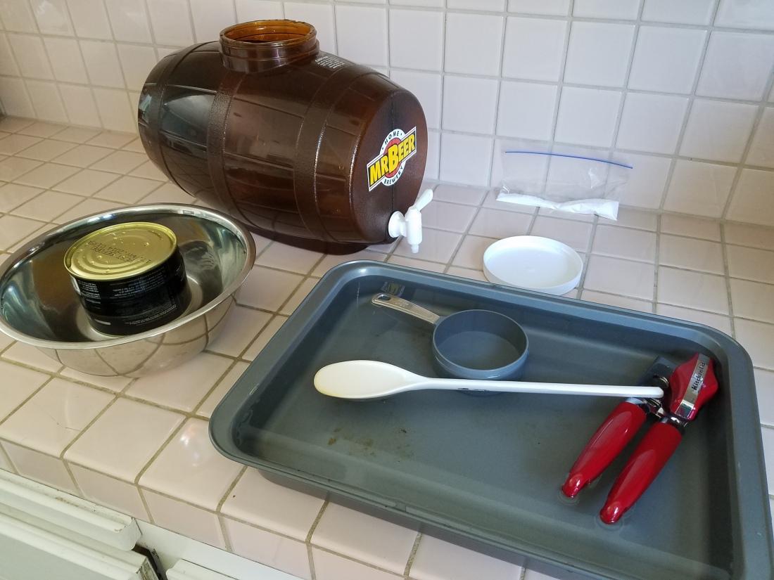 Sanitizing Utensils