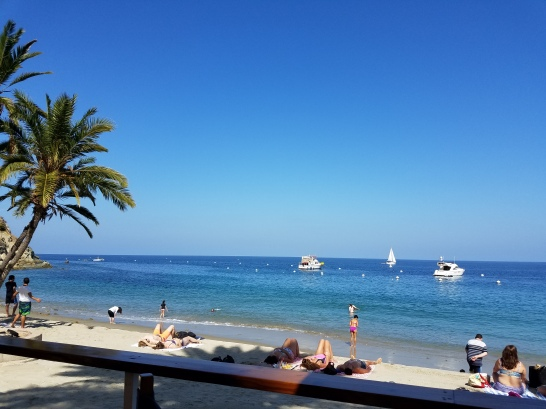 Lunching at Descanso Beach Club