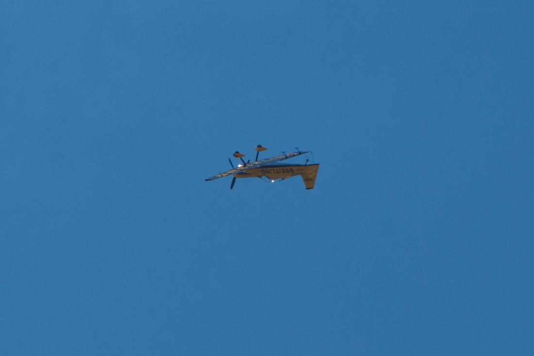 Breitling Plane Upside Down