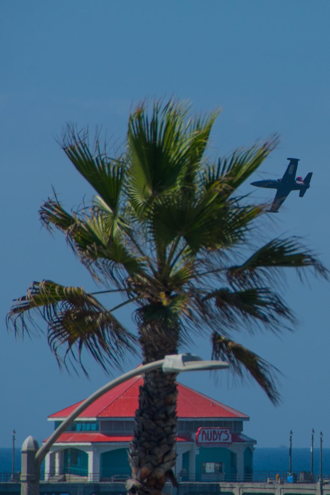 Jet Plane Over Rubies