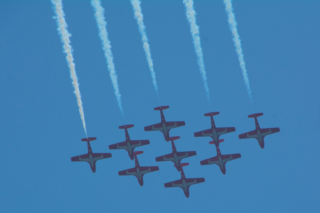 Underside of Snowbirds