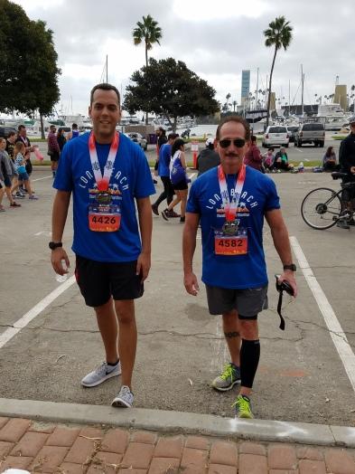 Long Beach Half Marathon Finishers!