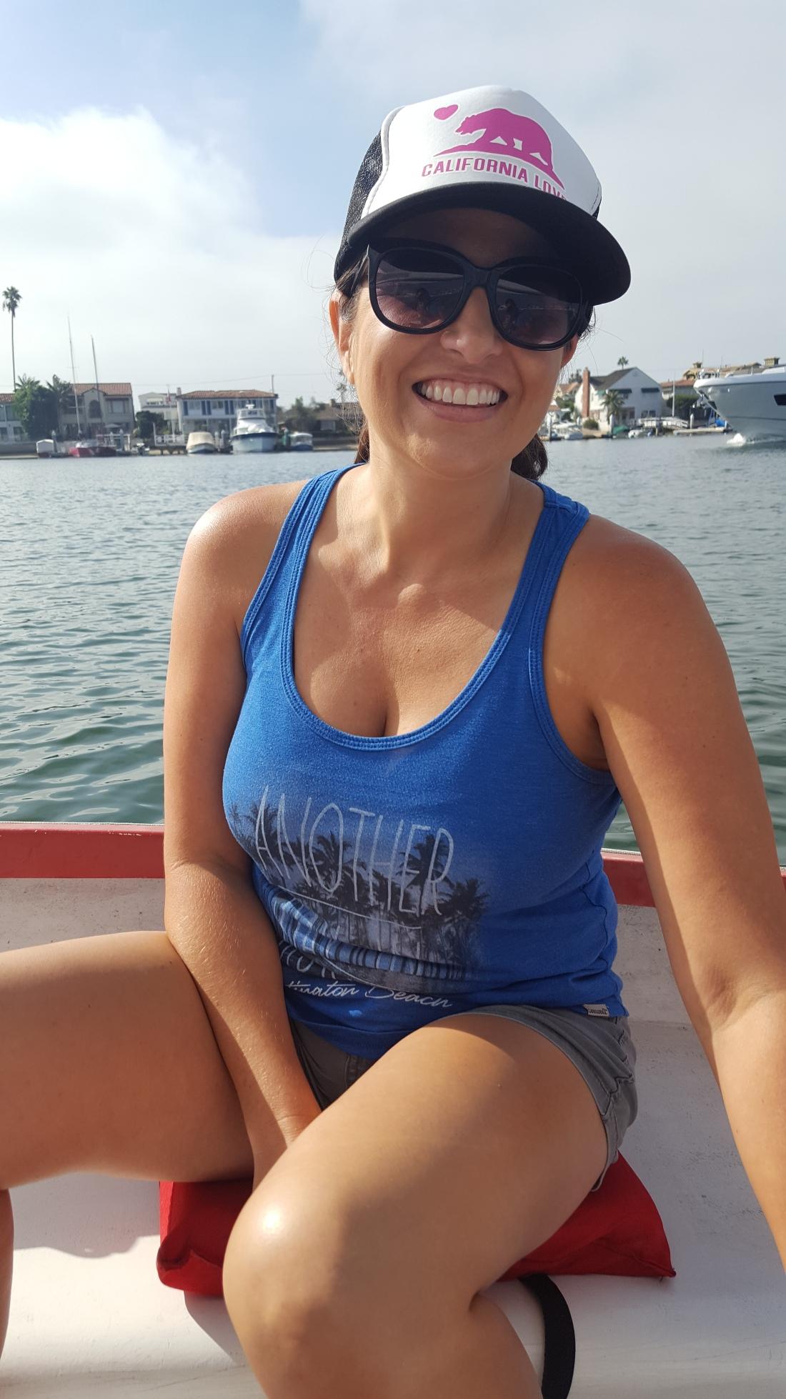Jenn Sailing