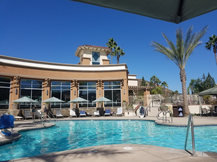 Welks Resort adult pool by the gym.