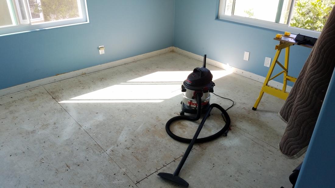 Prepped Floor