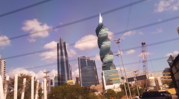 Beautiful architecture in downtown Panama City